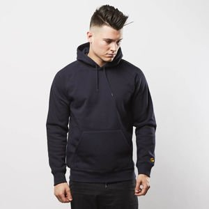 Carhartt WIP Hooded Chase Sweat dark navy / gold