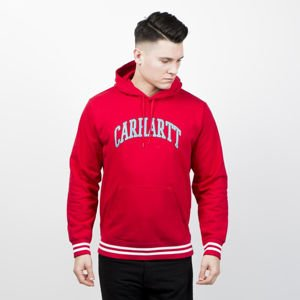 Carhartt WIP Hooded Knowledge Sweat cardinal