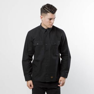 Carhartt WIP L/S Mision Shirt black rinsed