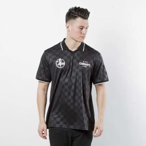Carhartt WIP S/S Stadium Polo black / white