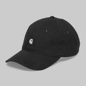 3e7f313b6ed Carhartt WIP Strapback Madison Logo Cap black   white