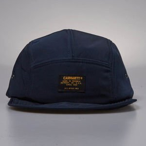 Carhartt WIP cap Military Logo Cap 5Panel navy