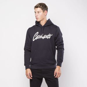 Carhartt WIP hoody Hooded Stray Sweat dark navy / wax