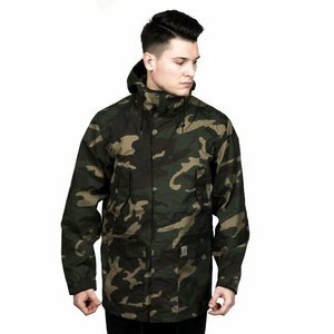 Carhartt WIP jacket Battle Parka camo laurel