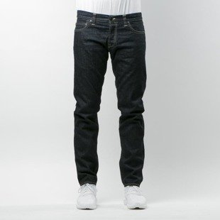 Carhartt WIP jeans Buccaneer Pant Hanford Cotton blue rigid