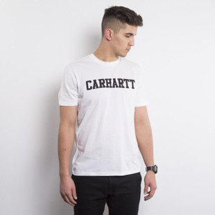 Carhartt WIP t-shirt College LT white / black