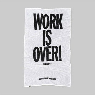 Carhartt WIP towel Work Towel black / white