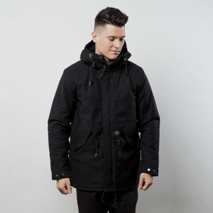 Carhartt WIP winter jacket Clash Parka black