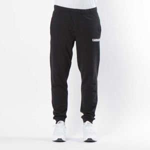 Carhartt  sweatpants College Sweat Pant black / white I024672/10