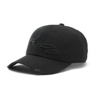 Cayler & Sons BLACK LABEL CSBL Ripped Curved Cap black