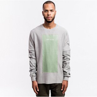 Cayler & Sons BLACK LABEL sweatshirt Tres Slick Crewneck grey / olive BL-CAY-AW16-AP-17-