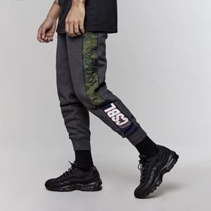Cayler & Sons Black Label Blocked Sweatpants heather grey / woodland