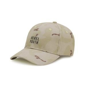 Cayler & Sons Black Label Rebel Youth Curved Cap desert camo / black