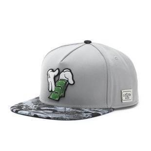 Cayler & Sons C&S WL Make It Rain Snapback Cap grey