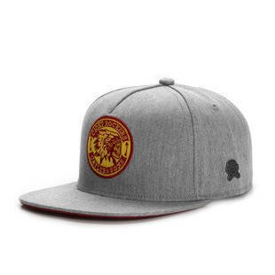 Cayler & Sons CL CR Snapback Cap heather grey / red / yellow CL-CAY-HD16-03