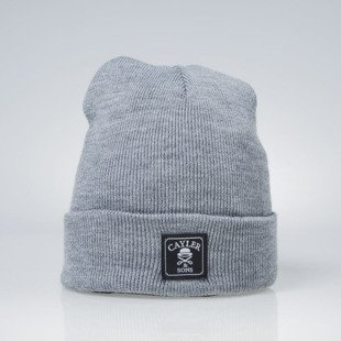 Cayler & Sons Old Skwl Beanie dark grey heather CAY-AW14-BN-29-04