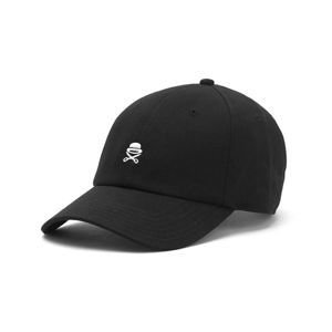 Cayler & Sons Premium Authentics Small Icon Curved Cap black / white