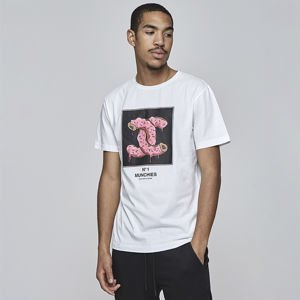 Cayler & Sons WHITE LABEL t-shirt WL Munchel Tee white / mc