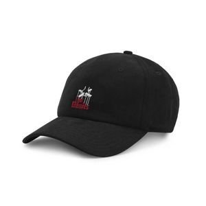 Cayler & Sons White Label Enemies Curved Cap black / red