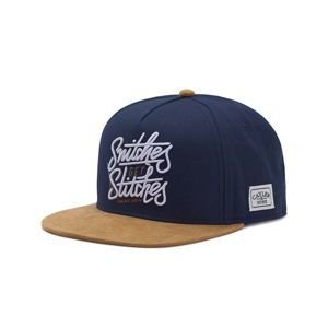 Cayler & Sons White Label Get Stiches Cap navy / cognac