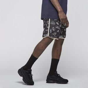 Cayler & Sons White Label Sager Nylon Shorts black / multicolor