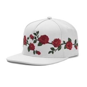 Cayler & Sons cap Black Label Mi Casa Cap white / red