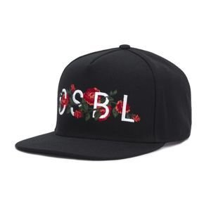 Cayler & Sons cap Black Label Venetian black / red