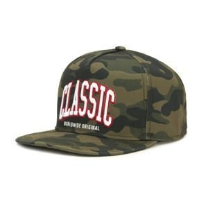 Cayler & Sons cap Black Label Worldwide woodland / white