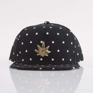 Cayler & Sons cap snapback Lil Budz black / white / gold (GL-CAY-AW15-25-01-OS)