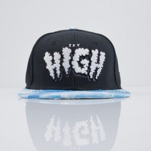 Cayler & Sons cap snapback Sky High black / blue / white (CAY-SS15-36-01)