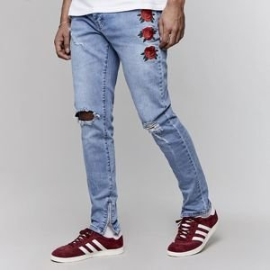 Cayler & Sons pants All Day Denim In Bloom Ian Denim Pants light blue