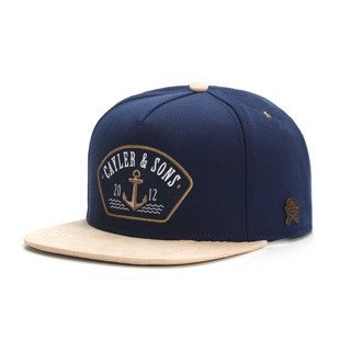 Cayler & Sons snapback Ahoi Cap navy / gold / white CL-CAY-AW16-02