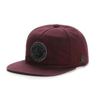 Cayler & Sons snapback CL Owners Cap maroon