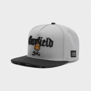 Cayler & Sons snapback WL Left Side Garfield grey / black
