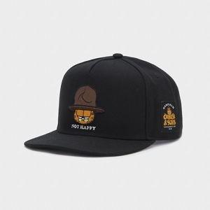 Cayler & Sons snapback WL Not Happy Garfield black