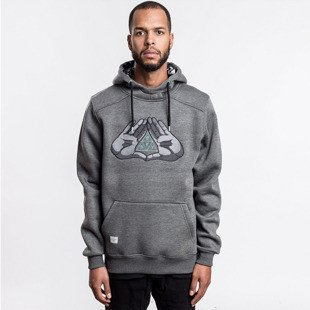 Cayler & Sons sweatshirt BKNY Hoody dark grey - heather / mint WL-CAY-AW16-AP-07