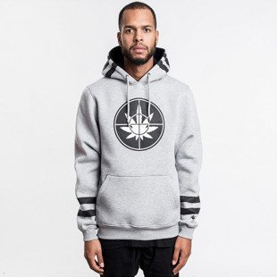 Cayler & Sons sweatshirt Defend Hoody grey - heather / black / white GL-CAY-AW16-AP-03