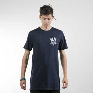 Cayler & Sons t-shirt Grime Long Tee navy / white WL-CAY-SU16-AP-10