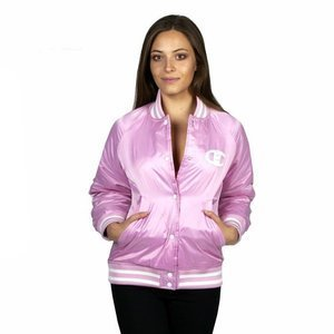 Champion Reverse Weave Bomber Jacket pink