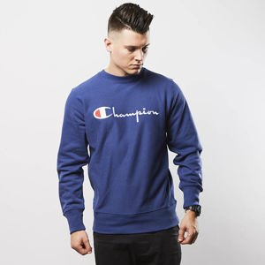 Champion sweatshirt Front Logo navy 209138-3458