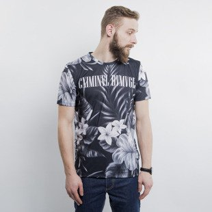 Criminal Damage t-shirt Najem black / grey
