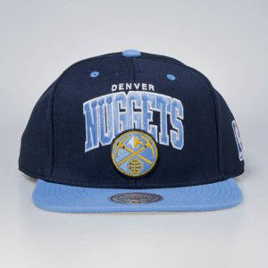 Czapka Mitchell & Ness snapback Denver Nuggets navy / blue Team Arch