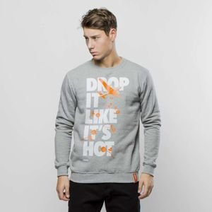 Diamante Wear sweatshirt Drop It Like It's Hot Crewneck grey