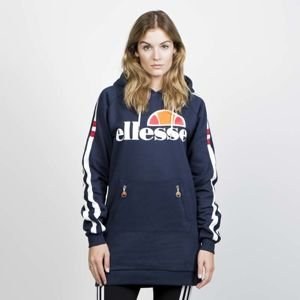 Ellesse women hoody Claviere Long Hoody dress blues