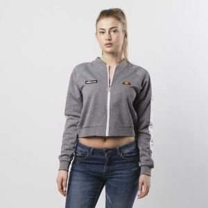 Ellesse women shirt Insalata Crop Top light grey marl