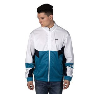 Fila Sweatshirt Talen Track Jacket caribbean sea-bright white-black iris