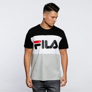 Fila T-shirt Men Day Tee light grey melange-black-bright white