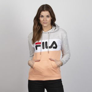 Fila WMNS Lori Hoody Women light grey-melange bros-salmon-bright white