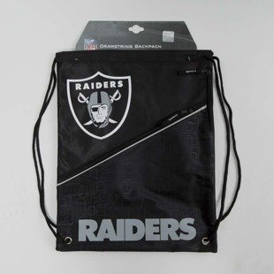 Forever Collectibles drawstring bag Oakland Raiders black