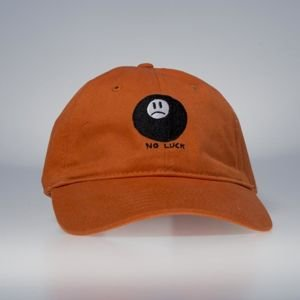 GLD No Luck Strapback Cap burnt orange